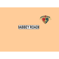 Abbey Road Street Sign Magnet