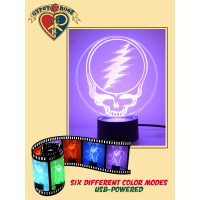 Grateful Dead SYF 3D Light