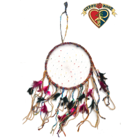 Dream It Do It Recycled Silk Large Fat Strands Dreamcatcher