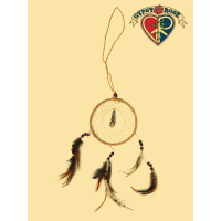 Yeti Tooth Hemp Dreamcatcher