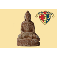 Deep Meditation Resin Sitting Buddha Statue