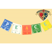Peace Practices Small Prayer Flag