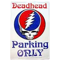 GRATEFUL DEAD STEAL YOUR FACE DEADHEAD PARKING SIGN
