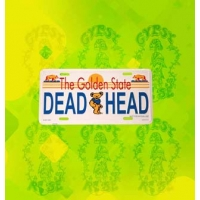 GOLDEN STATE DEADHEAD LICENSE PLATE