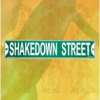 THE GRATEFUL DEAD SHAKEDOWN STREET METAL STREET SIGN