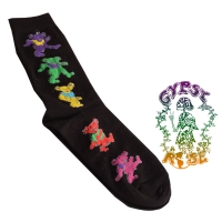 Grateful Dancing Dead Bear Men's Socks