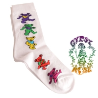Grateful Dead Dancing Bears Ladies' Socks