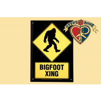 Bigfoot Xing Tin Sign