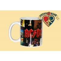 AC/DC Album Cover Collage Mug