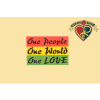 ONE PEOPLE ONE WORLD ONE LOVE MAGNET