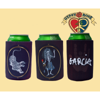 Grateful Dead Jerry Garcia Rosebud & Tiger Twin Pack Huggie
