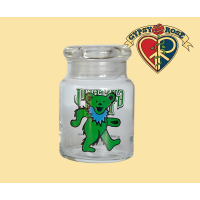 Grateful Dead Dancing Bear Stash Jar