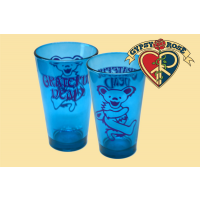 Grateful Dead Dancing Bear Colored Pint Glass