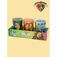 3 PACK MARLEY DOUBLE-SHOT GLASS SET
