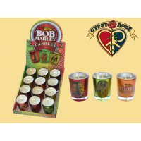 Marley Shot Glass Votive Candles