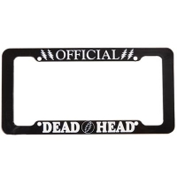 OFFICAL DEAD HEAD LICENSE PLATE HOLDER