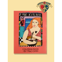 In The Kitchen Coloring Book