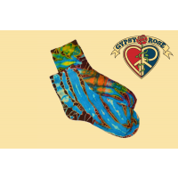 Not Fade Away Tye Dye Socks