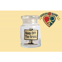 Keep On The Grass Stash Jar