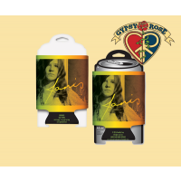 Janis Joplin Photo Shoot Can Cooler