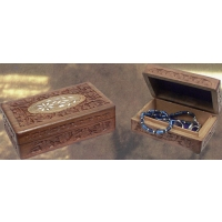 Carved Wood 5 X 8 Box