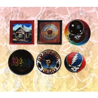 GRATEFUL DEAD ASSORTED BUTTONS