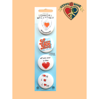 Lennon And Mccartney All You Need Is Love Buttons