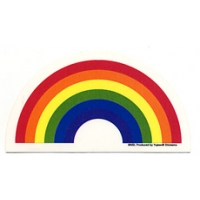 RAINBOW WINDOW STICKER