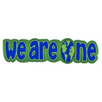 WE ARE ONE BUMPER STICKER