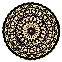 Belladonna Mandala Sticker