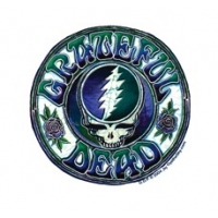 GRATEFUL DEAD BATIK STEAL YOUR FACE WINDOW STICKER