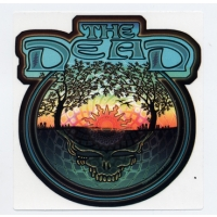 THE DEAD STEAL YOUR FACE TREES & SUN WINDOW STICKER