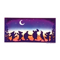 GRATEFUL DEAD MOONDANCE WINDOW STICKER