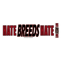 HATE BREEDS HATE BUMPER STICKER