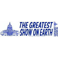 The Greatest Show On Earth Sticker