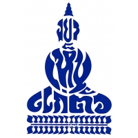 Peaceful Tibetan Buddha Cutout Sticker