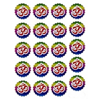 Om For Everyone  Sheet Of 20 Sticker