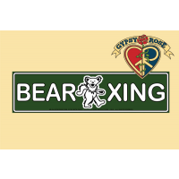 BEAR XING GREEN SIGN W/BEAR GRATEFUL DEAD STICKER
