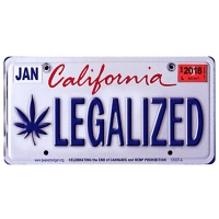 CALIFORNIA LEGALIZED STICKER