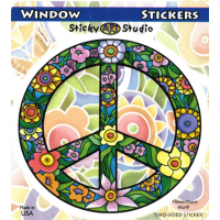 Flower Peace Sticker