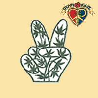 HEMP PEACE HANDS PATCH