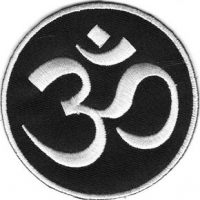 Assorted Three-Inch Om Patch