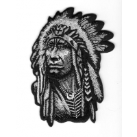 Native American Chief Patch