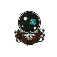 GRATEFUL DEAD LARGE SPACE YOUR FACE PATCH