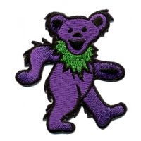 GRATEFUL DEAD SMALL ASSORTED DANCING BEAR PATCH
