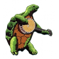 THE GRATEFUL DEAD BANJO PLAYING TURTLE PATCH