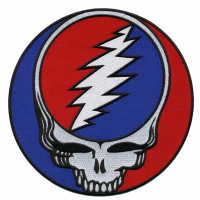 GRATEFUL DEAD XXL STEAL YOUR FACE PATCH