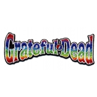GRATEFUL DEAD RAINBOW LETTERS PATCH