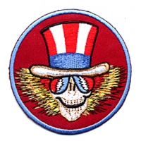 PSYCHEDELIC SAM HEAD PATCH