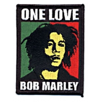 ONE LOVE PATCH- BOB MARLEY